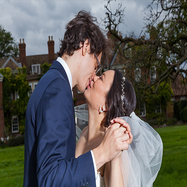AI & Ciro a Wedding at Anstey Hall Cambridge